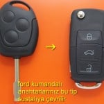 FORD TOURNEO CONNECT ANAHTAR