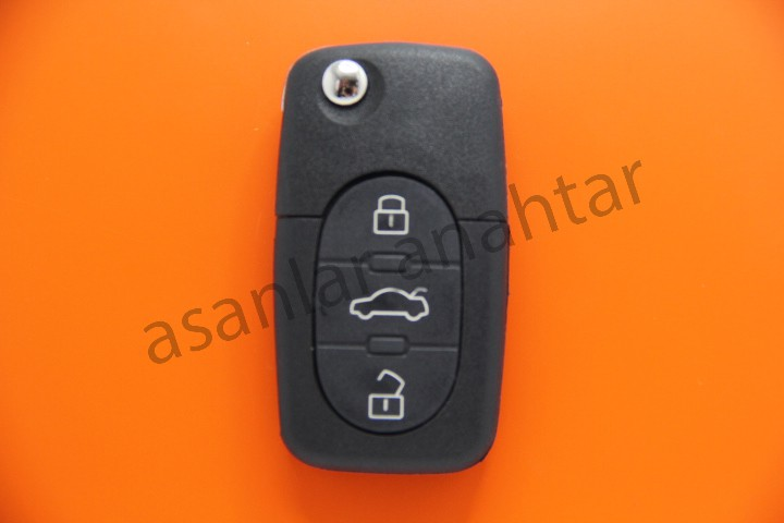 Audi A4 Anahtarı,
