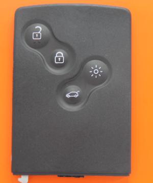 megane3 kart yedek anahtarı
