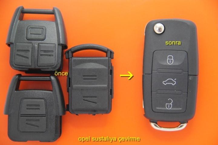 Opel Kumanda Kabı