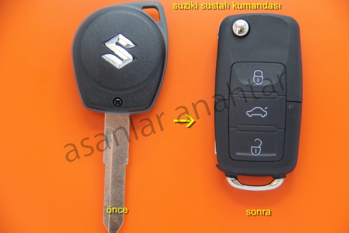 Suzuki Grand Vitara Anahtar