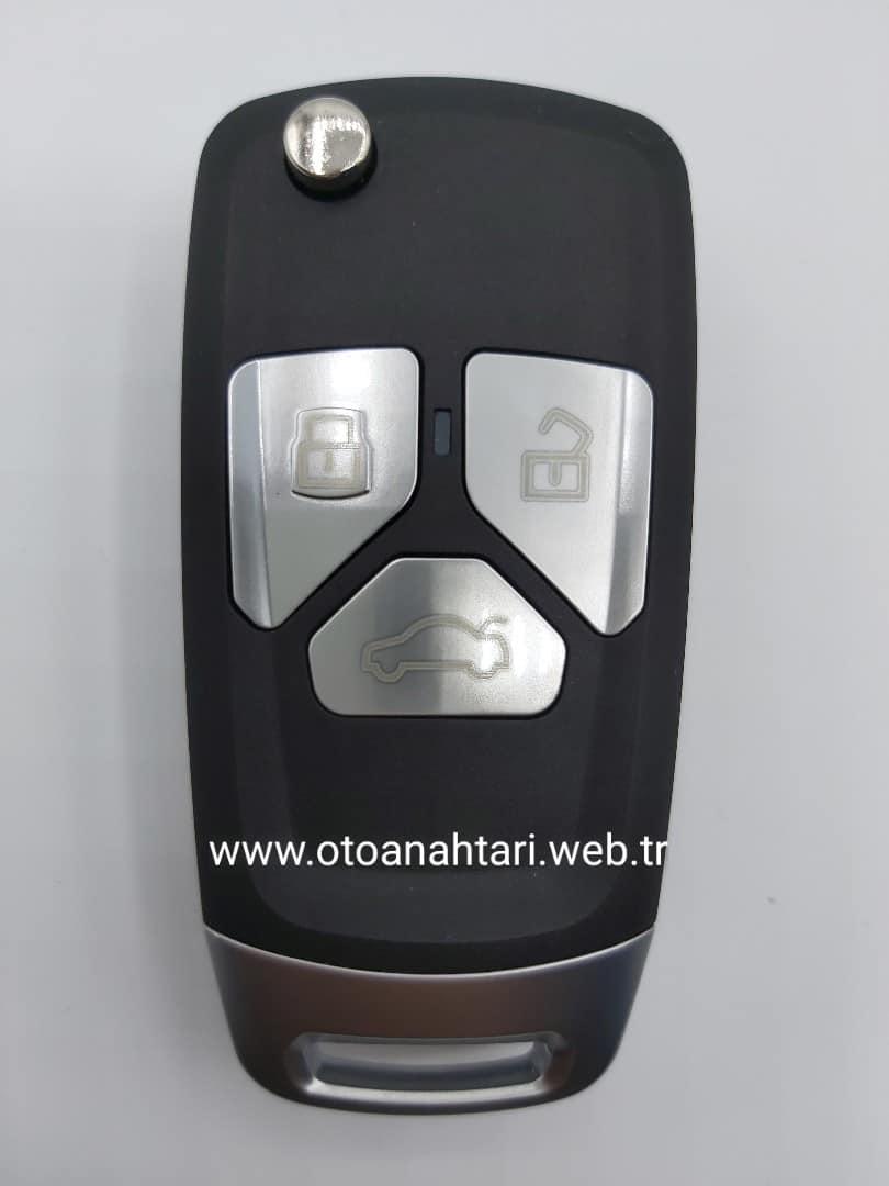 Audi Kumanda Kabı