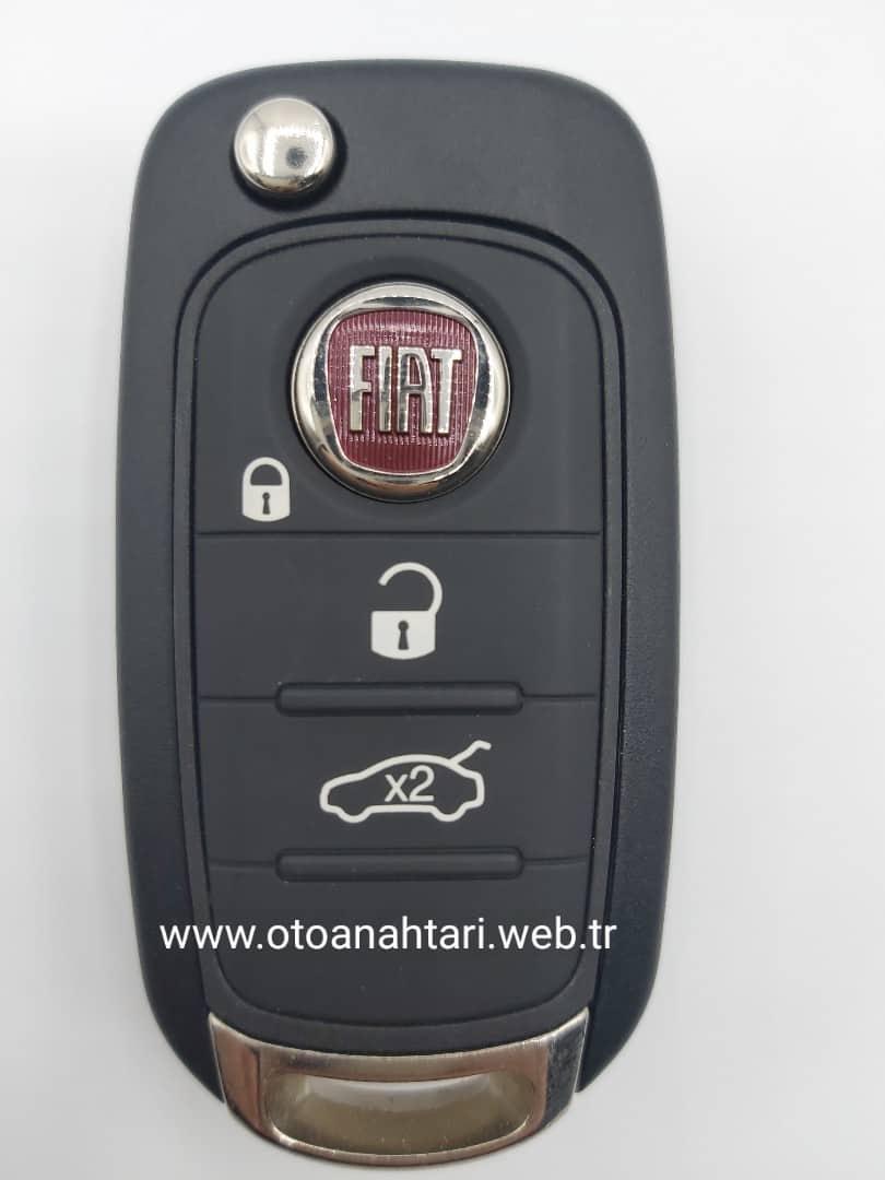 Fiat Egea Anahtarı oto kumandası oto kumandası Fiat Egea Anahtar