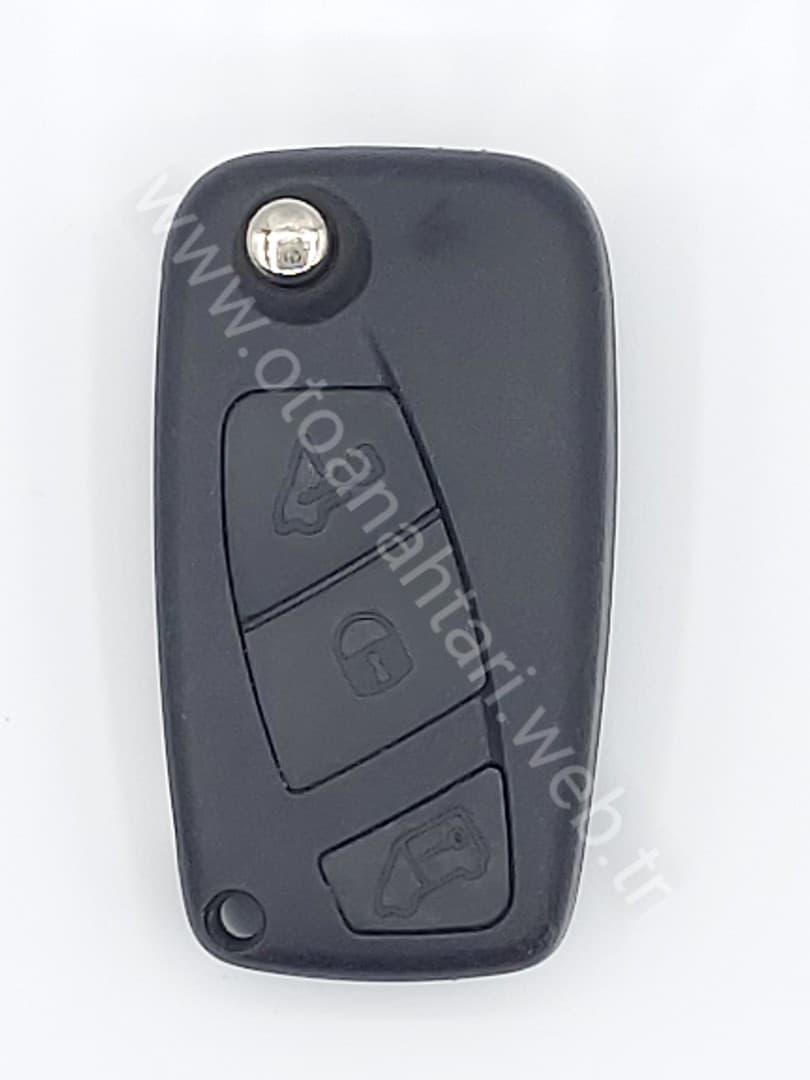Fiat Punto Yedek Anahtarı oto kumandası oto kumandası Peugeot Bipper Anahtar