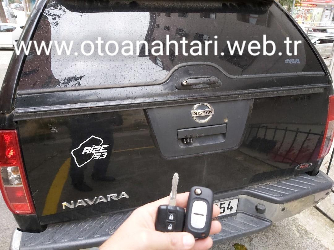 Nissan Navara Anahtar