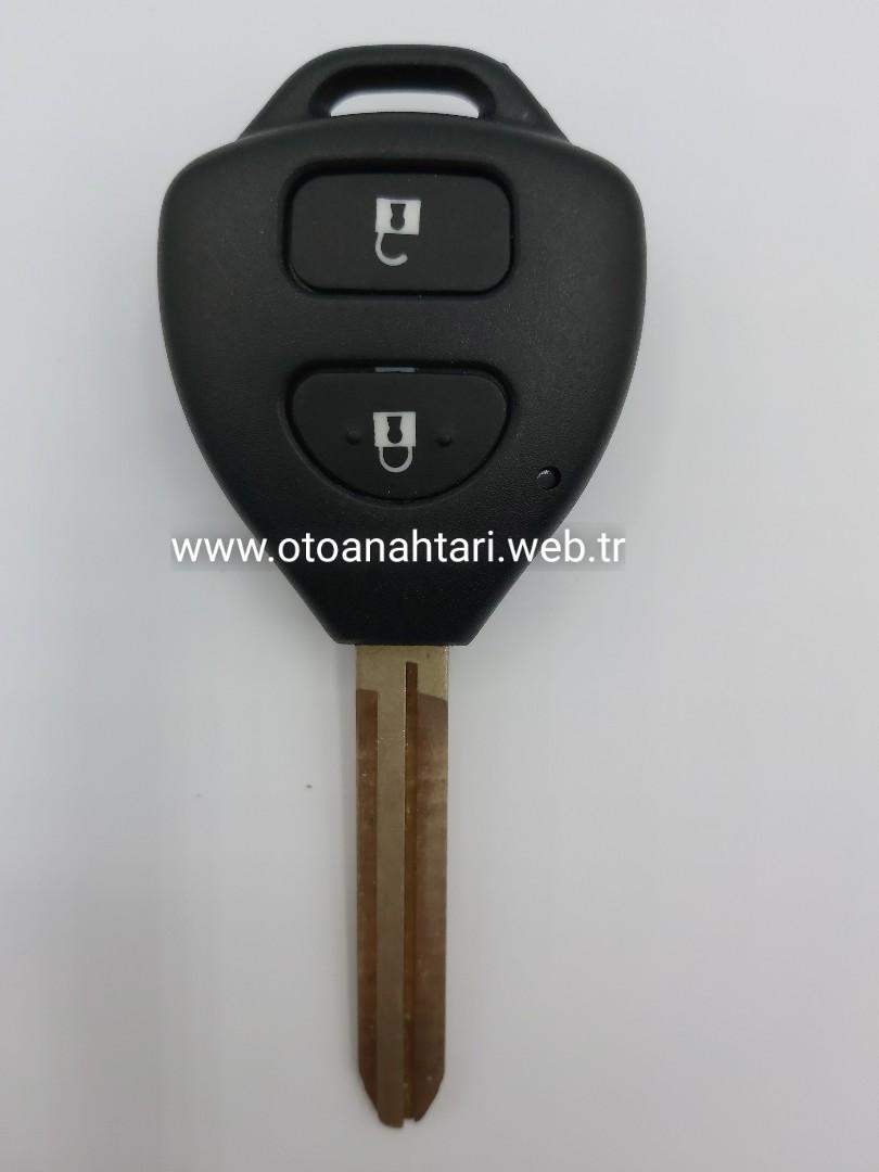 Toyota Yaris Anahtarı toyota kumanda kabı Toyota Kumanda Kabı toyota kumandal   anahtar