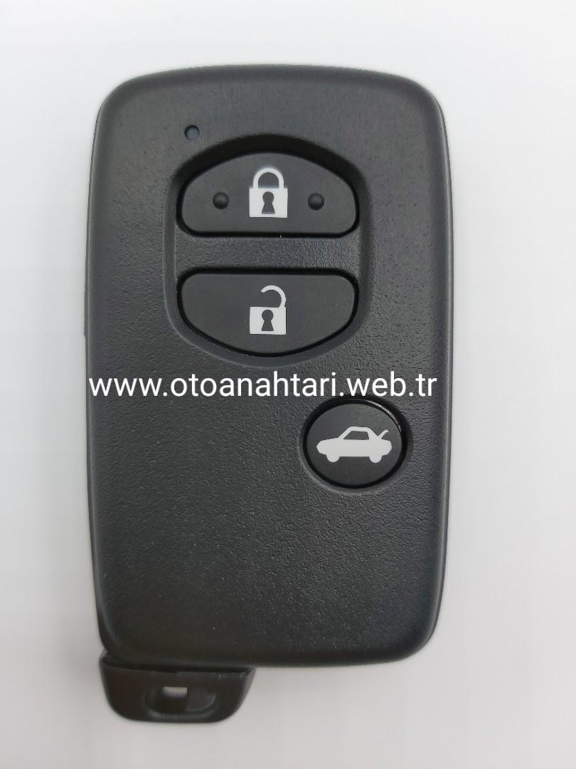 Toyota Verso Anahtarı toyota kumanda kabı Toyota Kumanda Kabı toyota toyota Auris rav4 corolla anahtar
