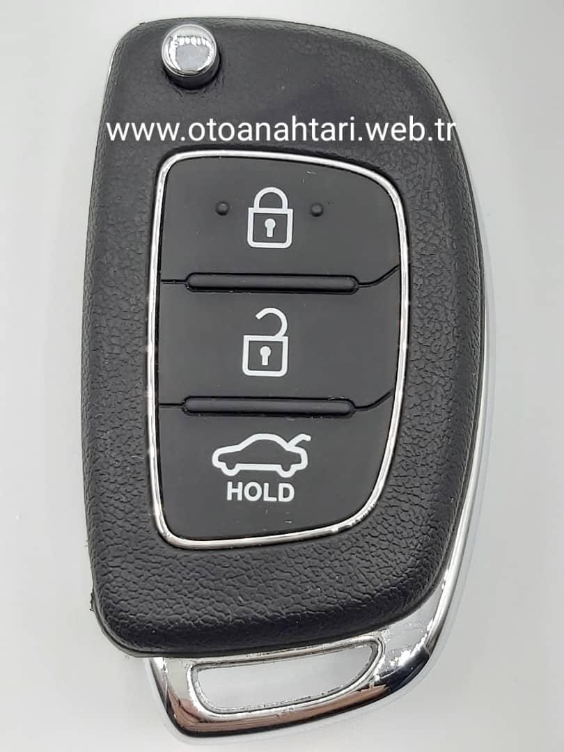 Hyundai Accent Anahtarı