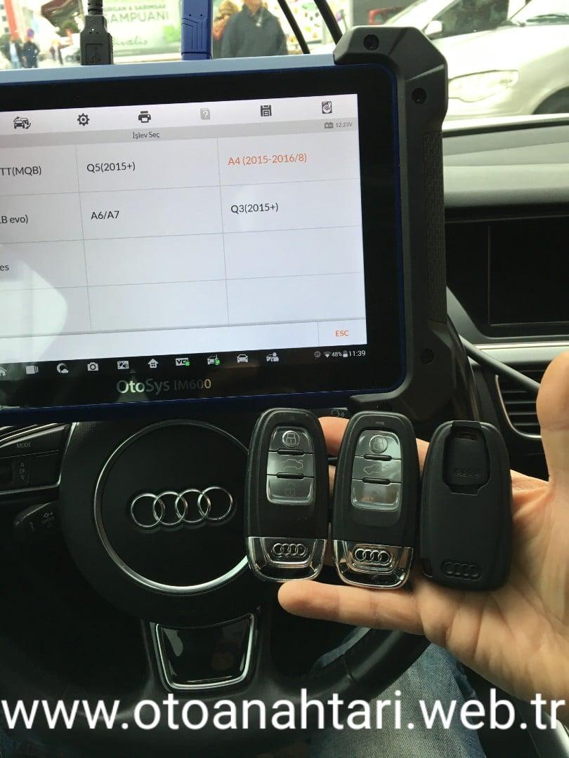Oto Anahtar Ataşehir araba anahtarı Araba Anahtarı audi smart anahtar 1