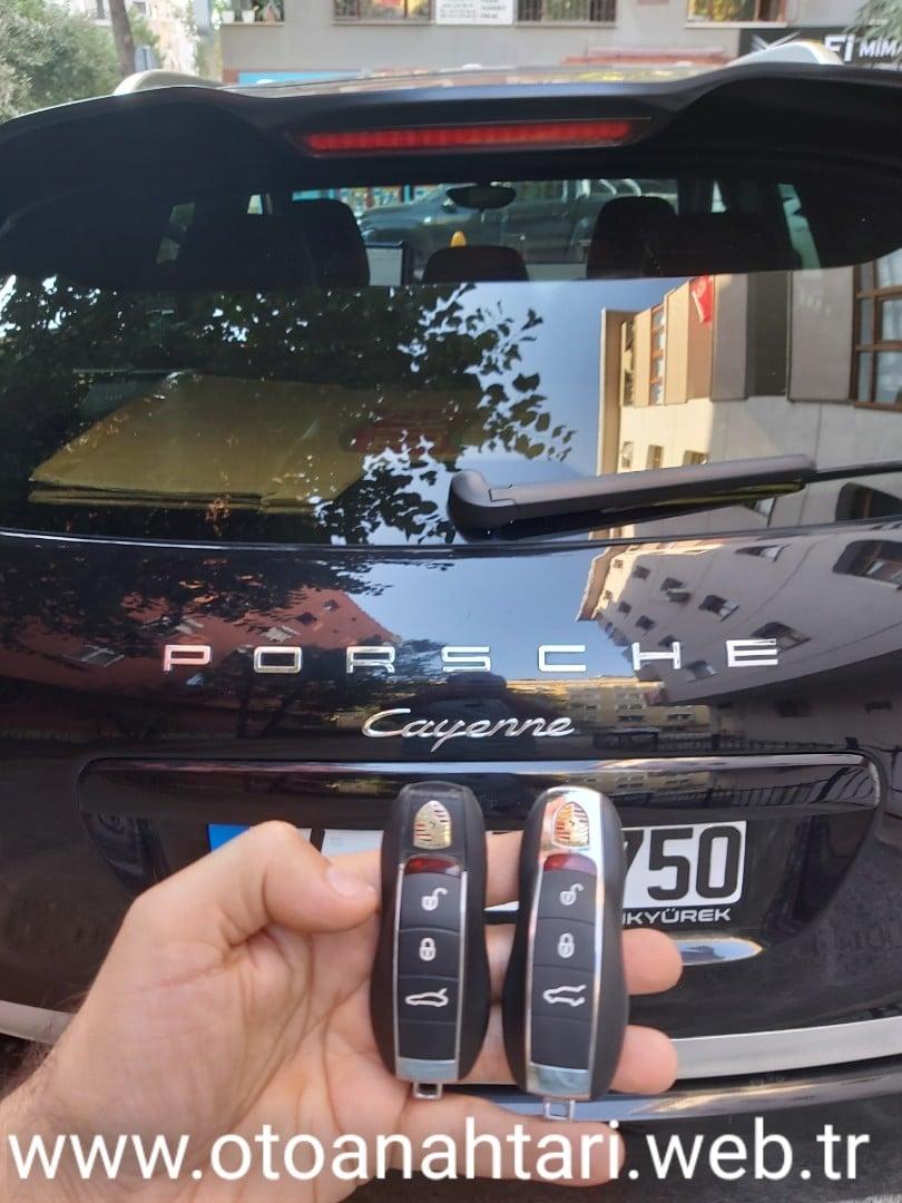 Porsche Anahtarı oto kumandası oto kumandası porsche cayenne Anahtar